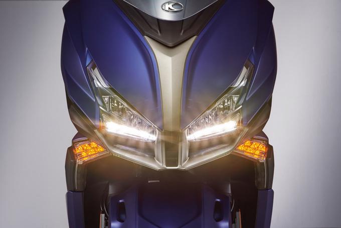 キムコ エキサイティングS400 タイムランニングライト