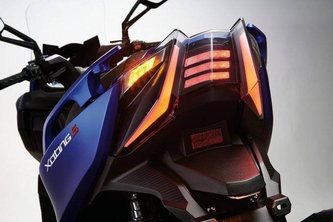 キムコ エキサイティングS400 LEDテールランプ