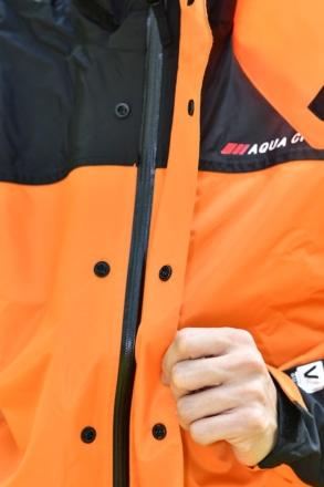 ワイズギア YAR19 サイバーテックス2 ダブルガードレインスーツ 止水ファスナー