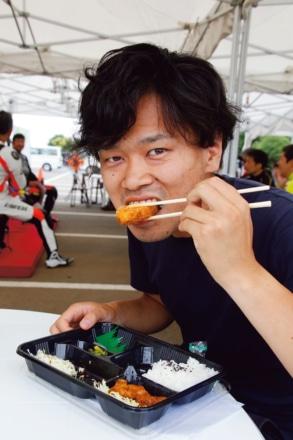 BATTLAX FUN&RIDE MEETING 昼食