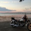 夏の夕暮れ 麻婆浜