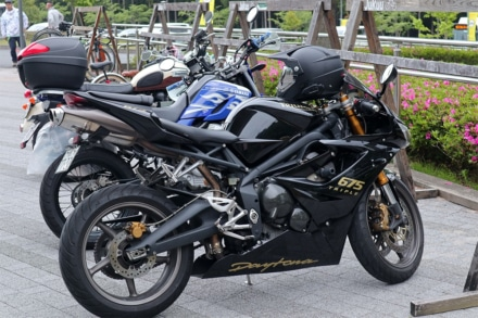 ACO CHiLL CAMP 2019 バイク駐輪場