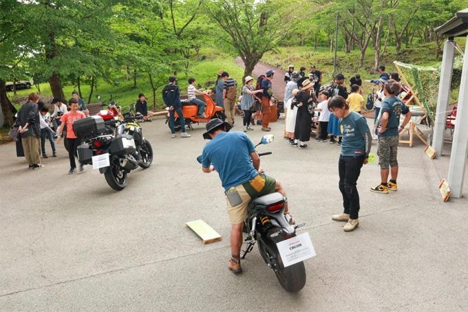ACO CHiLL CAMP 2019 バイクスペース