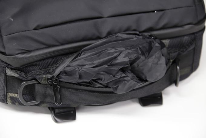ライズ トランスポータースーパーコンボ RTS01 本体上部取っ手に防水カバーを収納