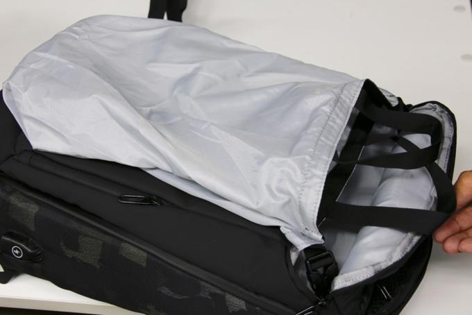 ライズ トランスポータースーパーコンボ RTS01 バッグ内部に取り付けられているトートバッグ
