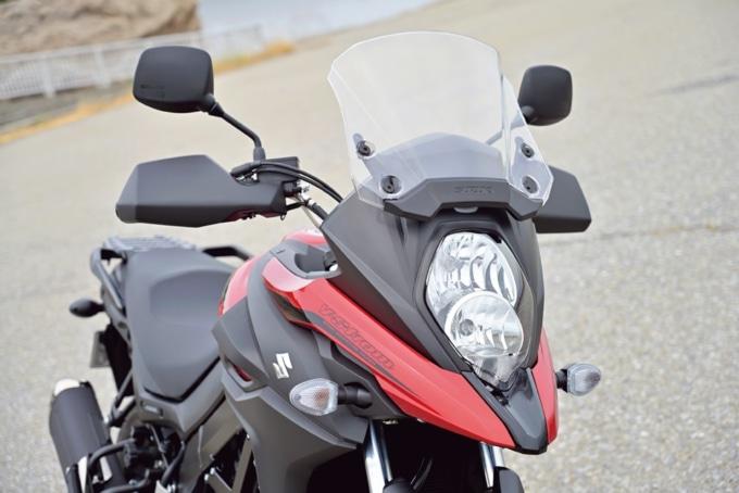 SUZUKI V-STROM650XT (2BL-C733A) ヘッドライトまわり