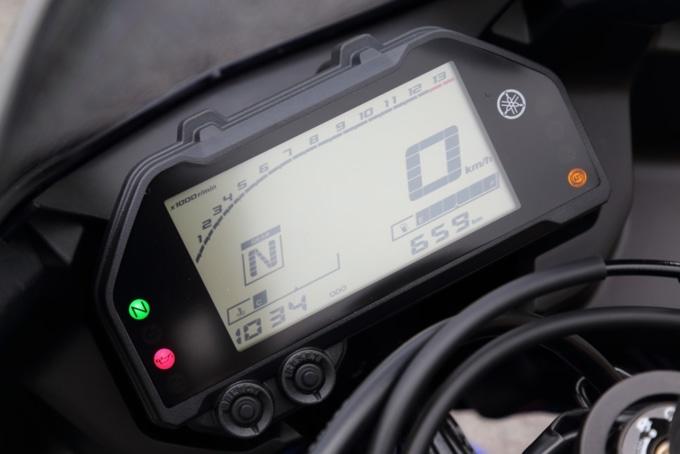 YAMAHA YZF-R3 ABS デジタルメーター