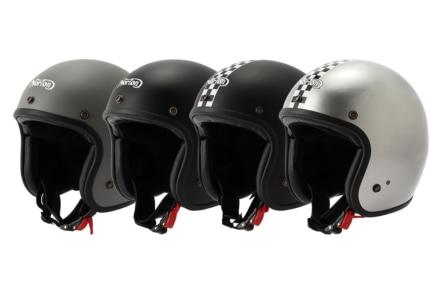 Norton新作ヘルメット発売! クラシカルな見ためでオトナ感アップ