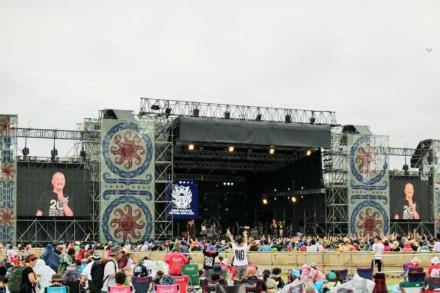 8/16の公演が荒天のため中止に。RISING SUN ROCK FESTIVAL 2019 in EZO