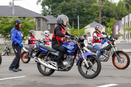 女性限定回もあります!YRA大人のバイクレッスン開催レポート