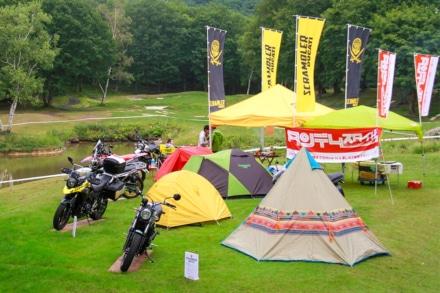 9月はキャンプイベント盛りだくさん!バイクでキャンプへ行こう