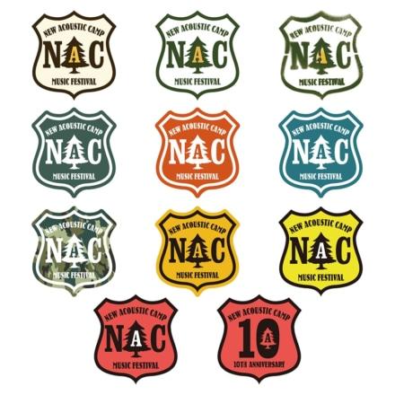 NAC10年分のロゴステッカーセット