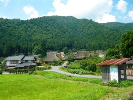 ツーリングスポットとしても人気の京都府美山町