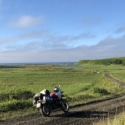 フレシマ湿原の朝