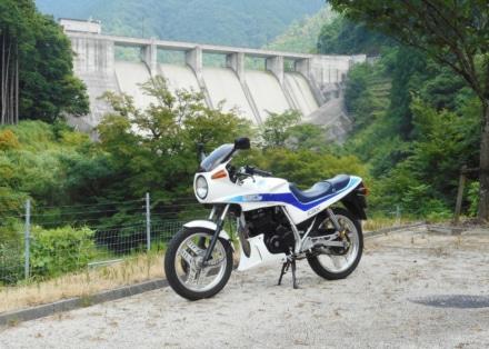 野洲川ダムにて