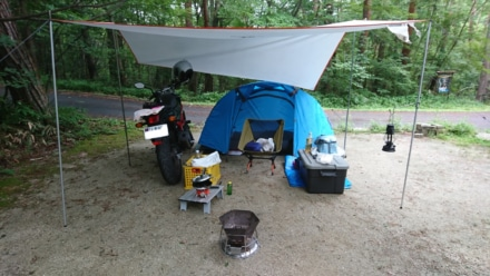 ソロツーリングキャンプ