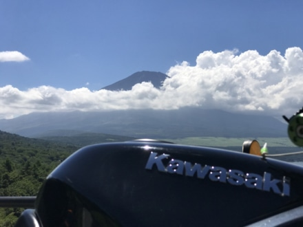 富士山とKAWASAKI