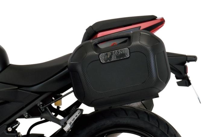 ヘプコ&ベッカー サイドケースORBIT Z250装着イメージ