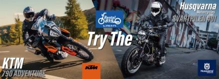 KTM&Husqvarnaがレンタル819とコラボ!お得なレンタルキャンペーンプランを9月1日から実施