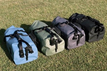 TTPLの防水ツーリングバッグシリーズに大容量60ℓサイズが新登場