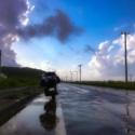 晩夏の雨あがり