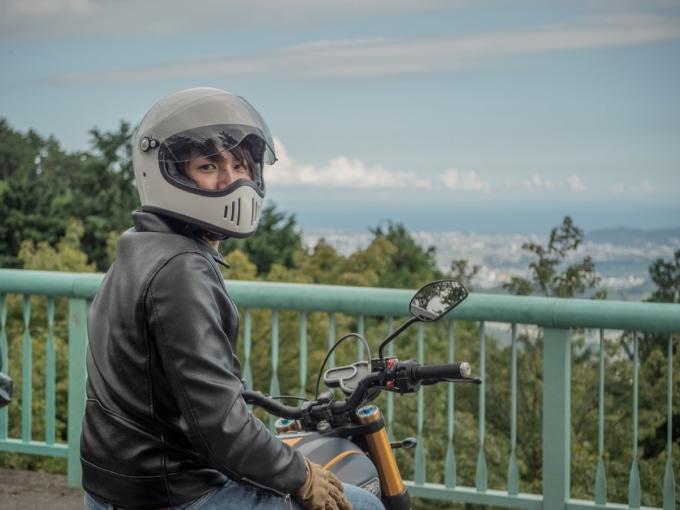 ドカティ スクランブラー1100 スポーツで訪れた秦野のヤビツ峠展望台