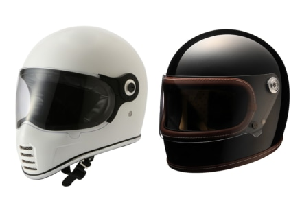 懐かしくも新しい!RIDEZからネオクラシックヘルメット2製品が登場