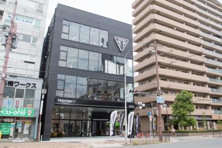 トライアンフ大阪がグランドオープン!全モデルの試乗車も揃える日本最大級の旗艦店だ
