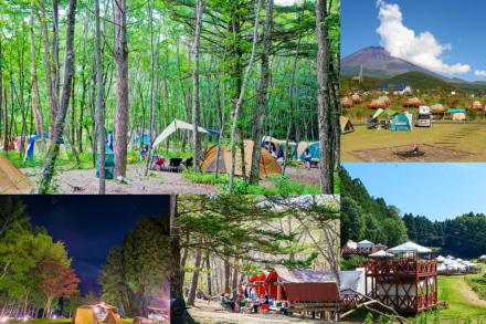 キャンプ初心者でも大丈夫! 手ぶらで行けるキャンプ場を紹介