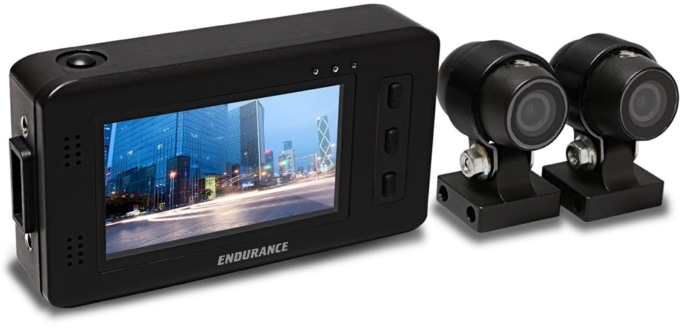 エンデュランス ツインカメラドライブレコーダー