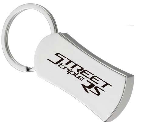 新型STREET TRIPLE RS デビューフェア オリジナルキーホルダー
