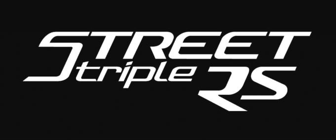 新型STREET TRIPLE RS デビューフェア オリジナルステッカー