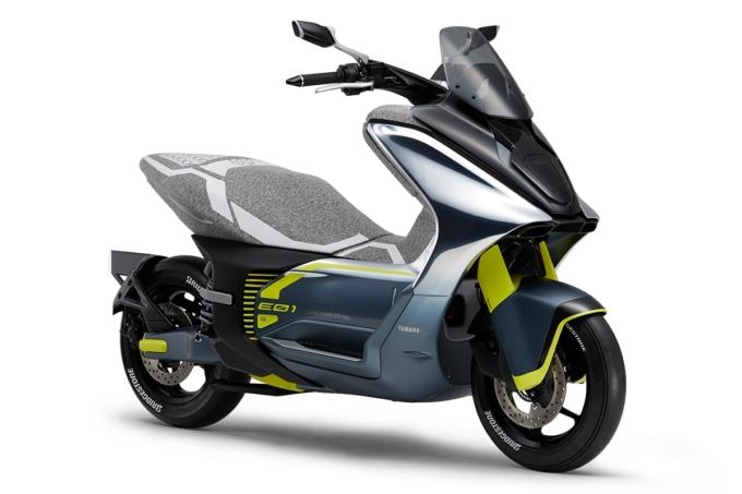 ヤマハ E01(東京モーターショー2019出展モデル)
