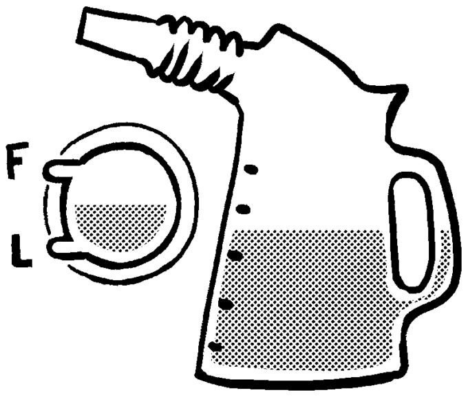 エンジンオイルのイラスト