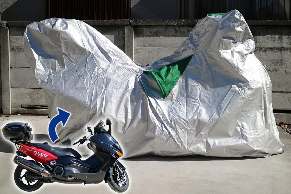 ワイズギア バイクカバーFタイプ使用イメージ