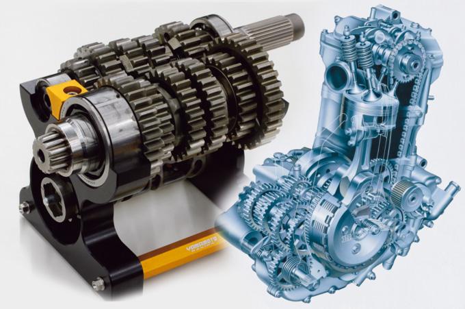 エンジンカットモデル&ギヤまわり