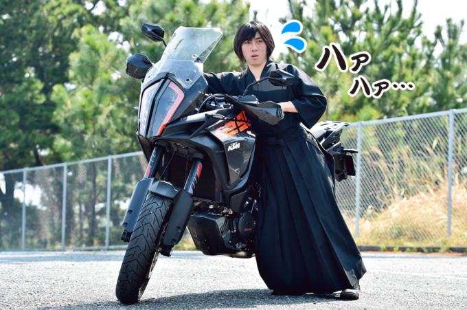 バイク取りまわし練習