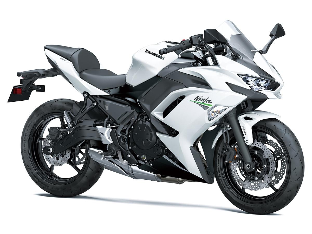 カワサキ Ninja 650(2020年モデル)パールブリザードホワイト
