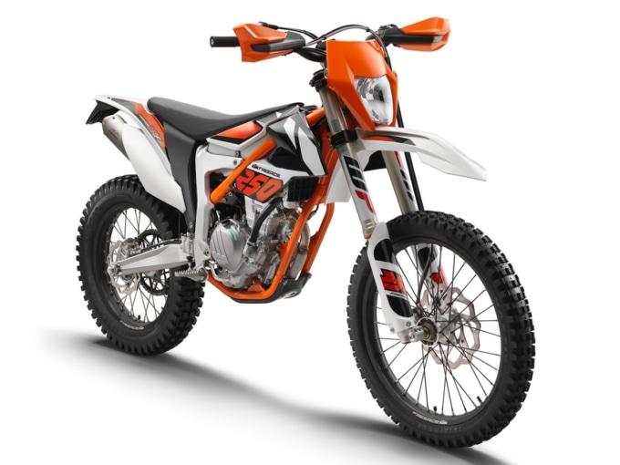 KTM フリーライド250F 7:3ビュー