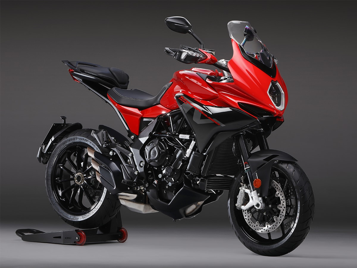 精悍かつ所有感の高い赤×黒カラー!MVアグスタ『TURISMO VELOCE 800 ROSSO』が登場