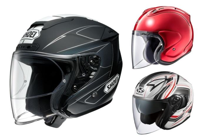 スポーツジェットヘルメット