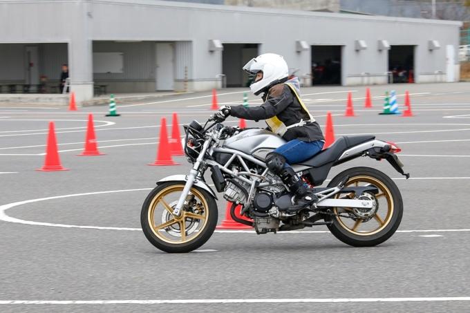 STEC Bike Only DayのVTR250教習車