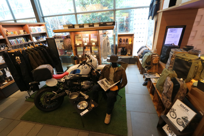GOLDWIN MOTORCYCLE Pop-up Exhibition & Store