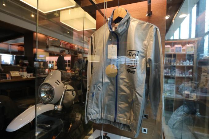 リフレクションジャケット GOLDWIN MOTORCYCLE Pop-up Exhibition & Store