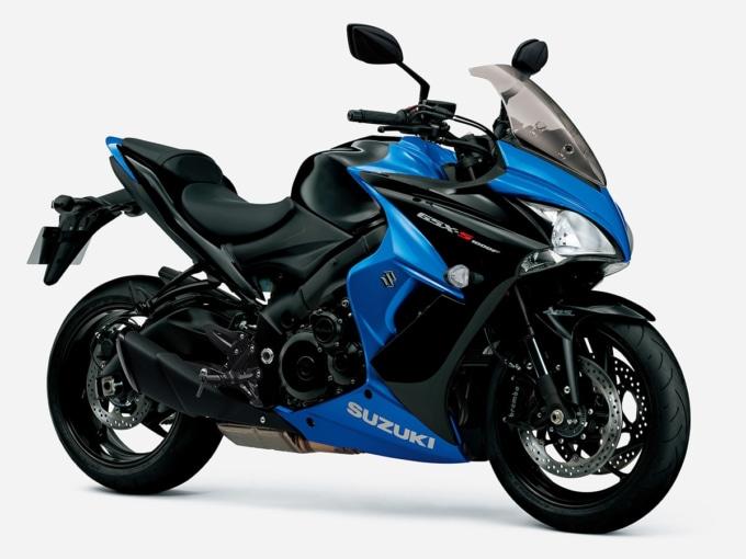 SUZUKI GSX-S1000F ABS(2020年モデル)グラススパークルブラック/トリトンブルーメタリック