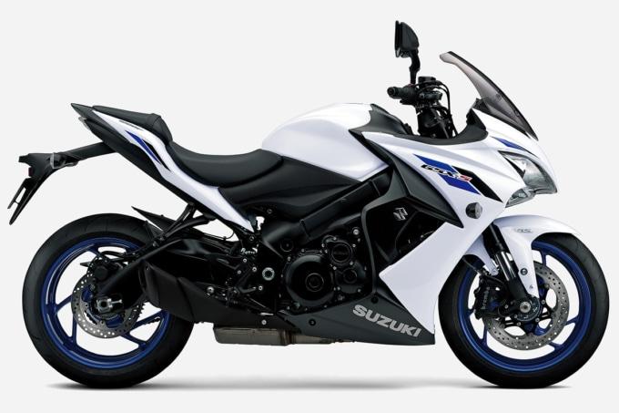 SUZUKI GSX-S1000F ABS(2020年モデル)パールグレッシャーホワイト サイドビュー