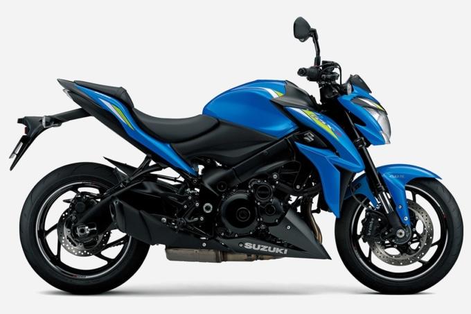 SUZUKI GSX-S1000 ABS(2020年モデル)トリトンブルーメタリック サイドビュー