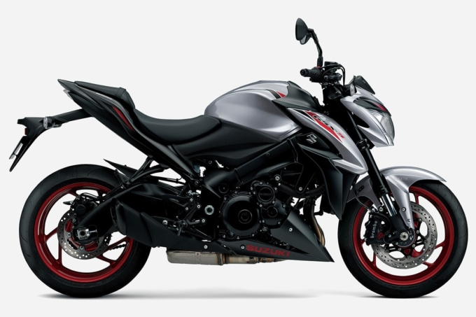 SUZUKI GSX-S1000 ABS(2020年モデル)マットブラックメタリックNo.2/オールトグレーメタリックNo.3 サイドビュー