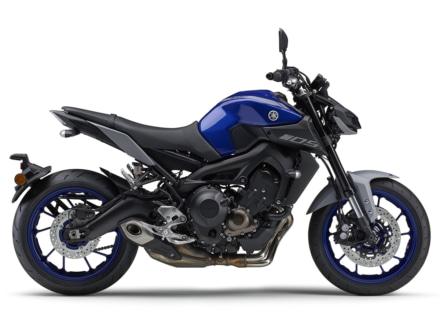 2020年モデル YAMAHA MT-09 ABS(ブルー)右サイドビュー