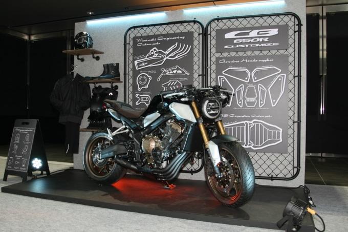 HONDAバーチャルモーターサイクルショー CB650Rをベースにしたカスタムモデル